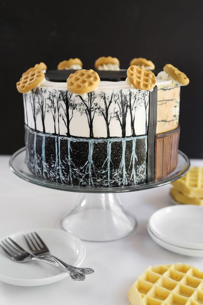 Stranger Things Eleven Cake Birthday Celebrations Pinterest