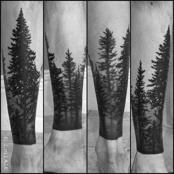 Photo of 40 idées de conception de tatouage de jambe d'arbre pour les hommes – encre enracinée – style homme | tatouage