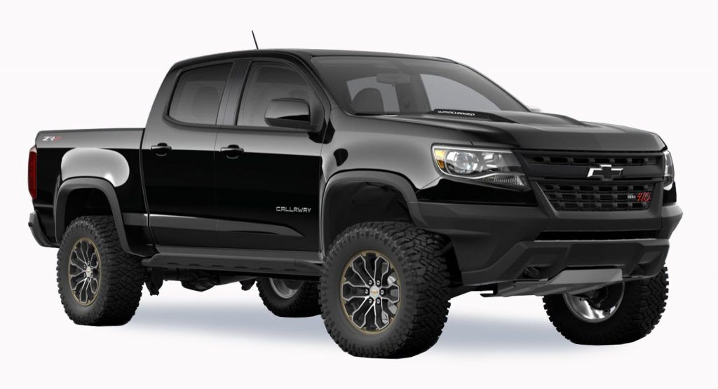 Callaway Tunes The Chevy Colorado And Gmc Canyon To 410 Hp Callaway Is Best Known For Tuning Corvettes But They In 2020 Chevy Colorado Gmc Canyon Chevrolet Colorado