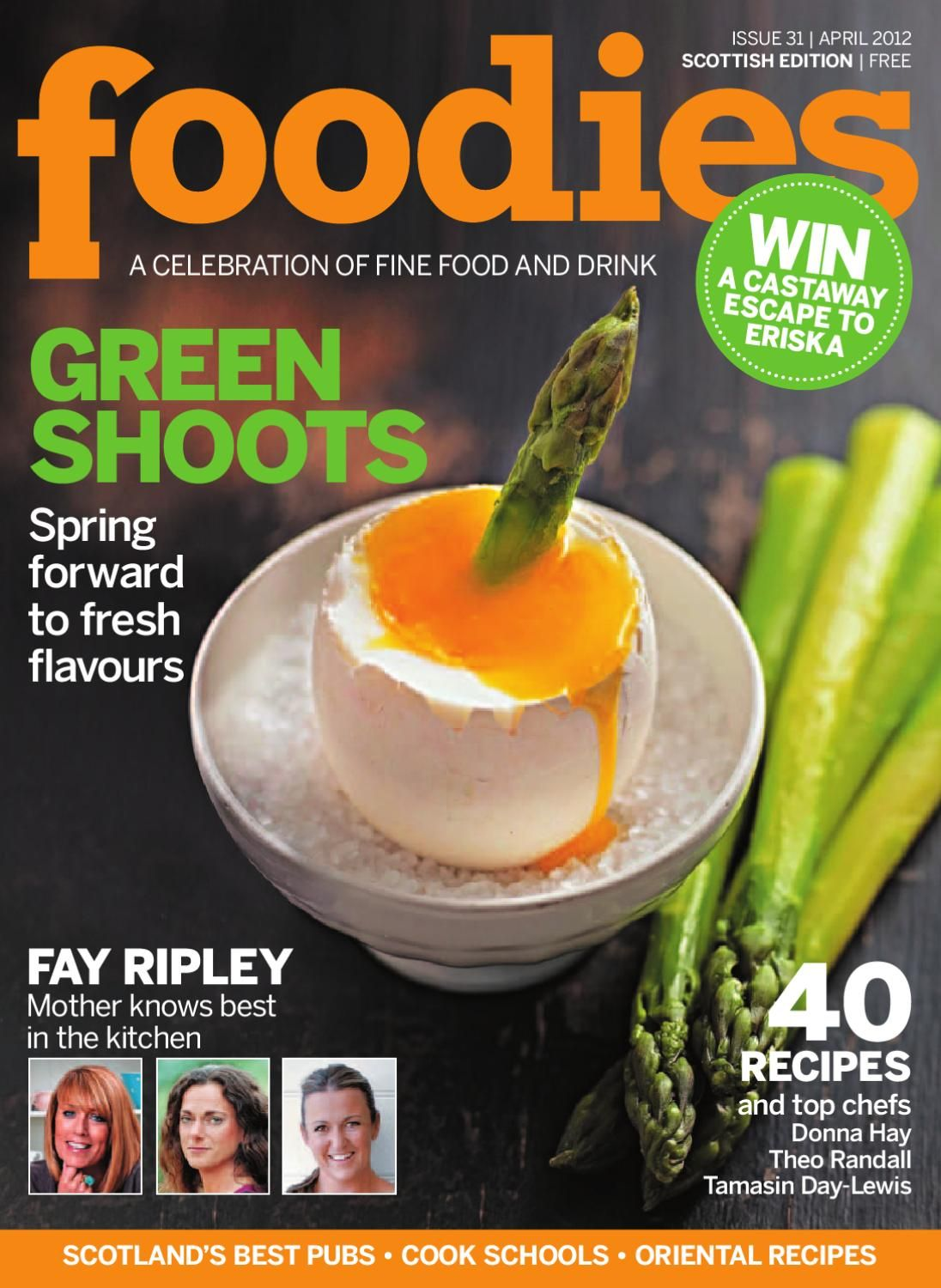 Foodies Magazine April 2012