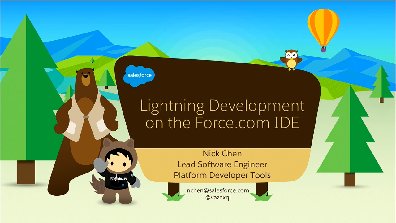 The IDE includes new features to help you