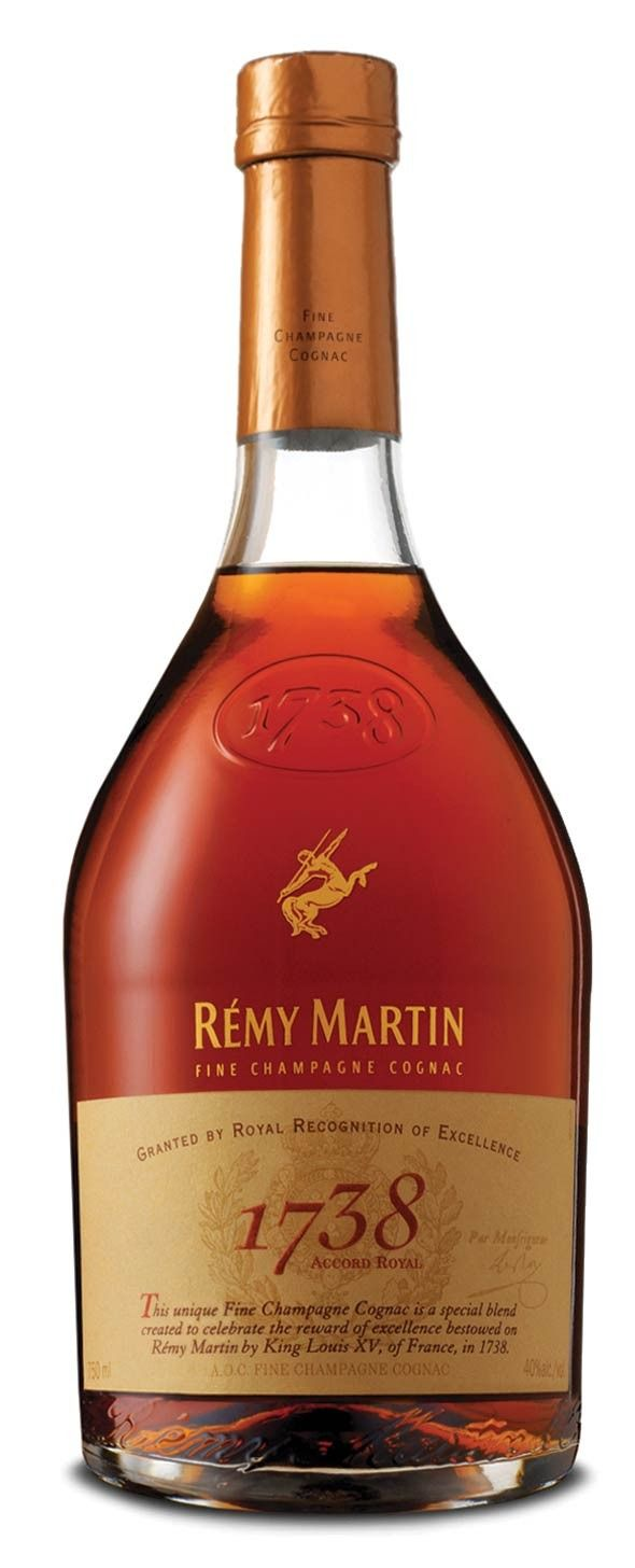 Remy Martin 1738 Accord Cognac Spiritedgifts Com Remy Martin Boisson Alcoolisee Bouteille D Alcool
