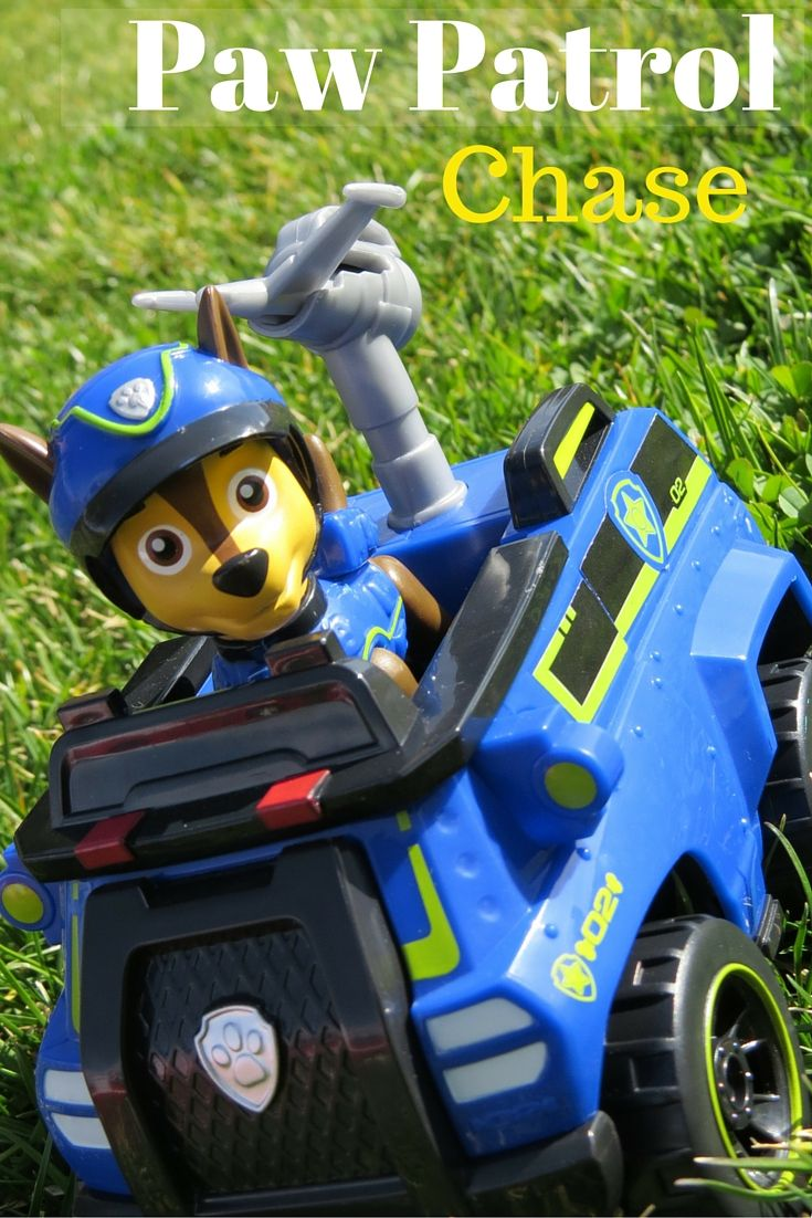 our paw patrol chase police car adventures police truck and toy