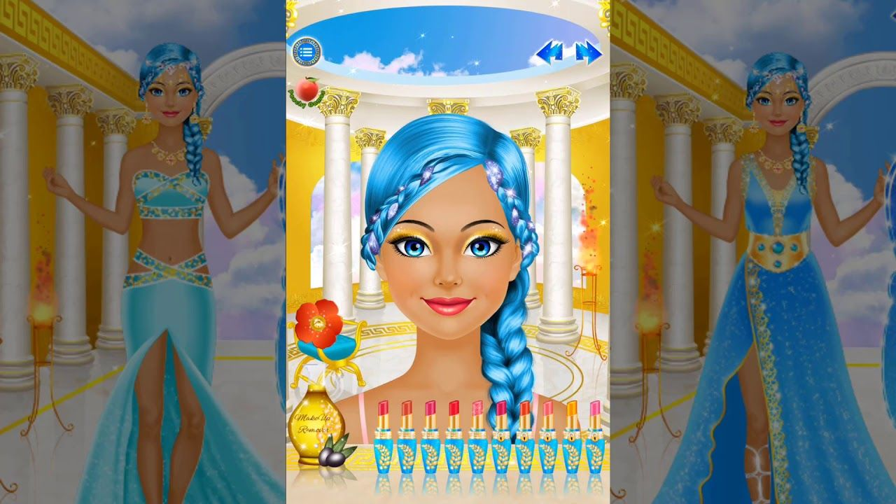 Dress and Makeup up games pictures rare photo