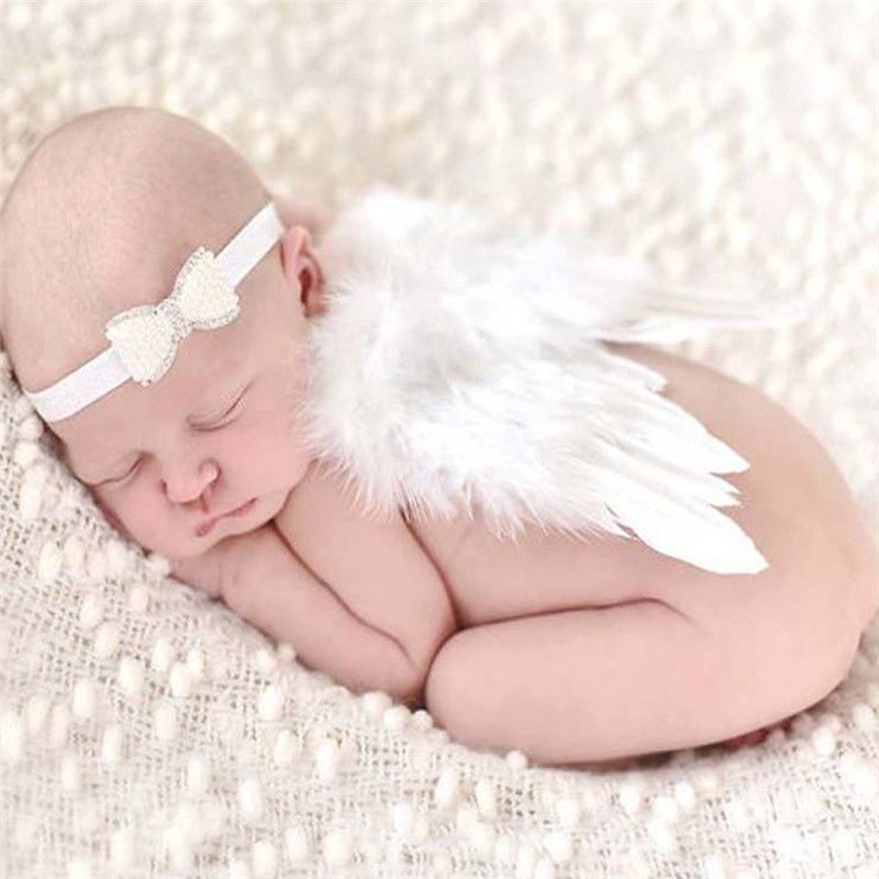 Itty bitty kids baby angel wingsnewborn photography propsnewborn