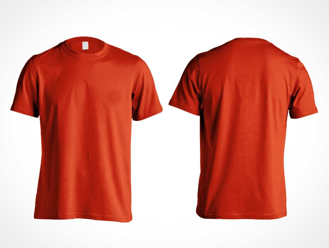 Men S Gildan Cotton T Shirt Psd Mockup Front And Back Shirts Shirt Mockup T Shirt