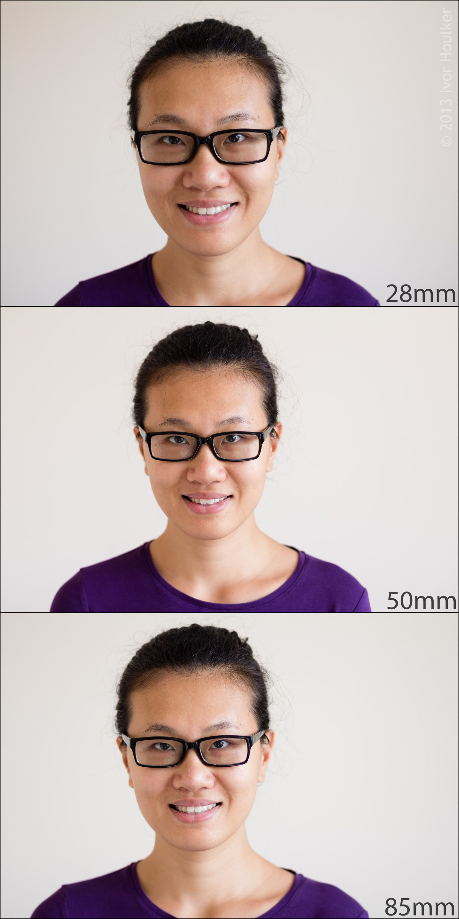 Different focal lengths for portrait photography: http://houlker.co.uk/photography/tutorials/tutorial-focal-lengths-for-portraits/