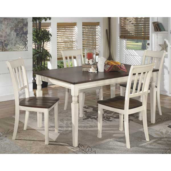 Whitesburg 5 Piece Dining Set D583 25 5pc Home Dining