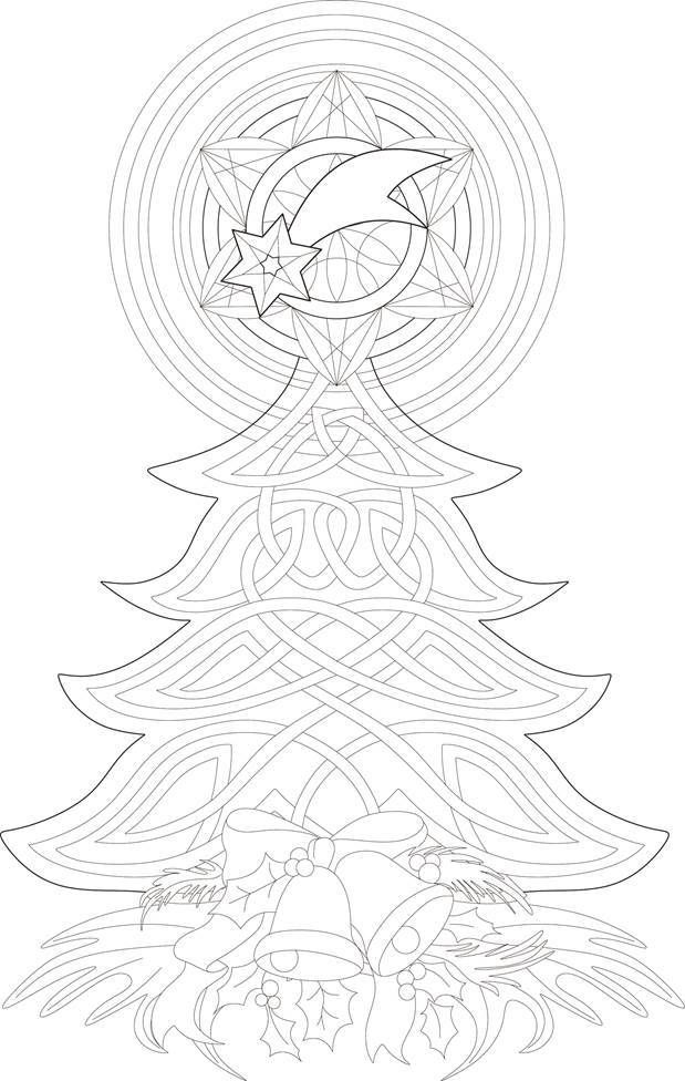 """iColor """"Christmas Trees"""" (With images) 