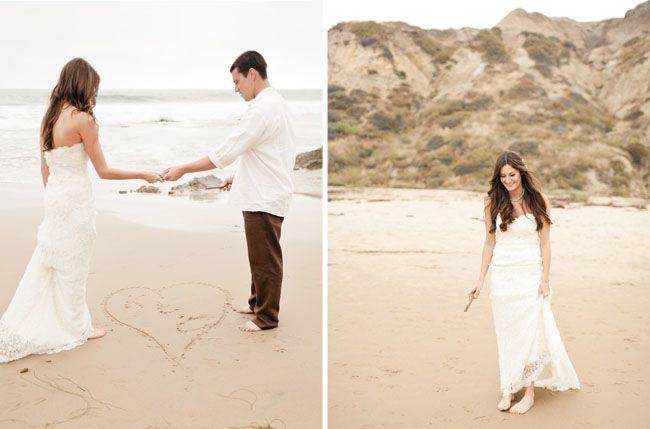 Real Wedding Katy Chads Rustic Beach
