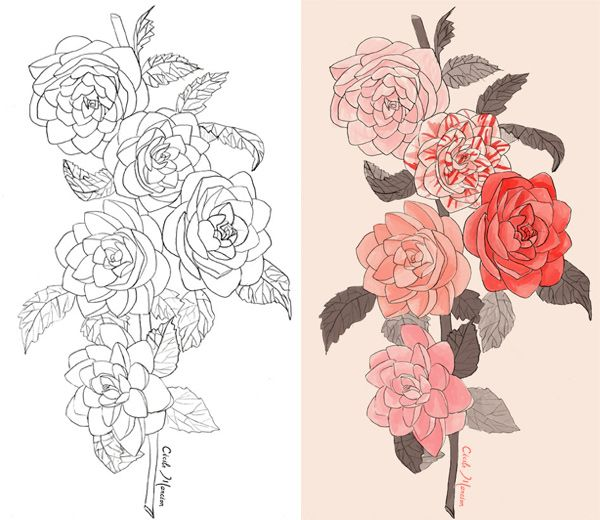 29 Camelias Design Tatouage Tatouage Avant Bras Et Tatoo