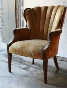 1930s Chair Looks Comfy With Images 1930s Home Decor 1930s