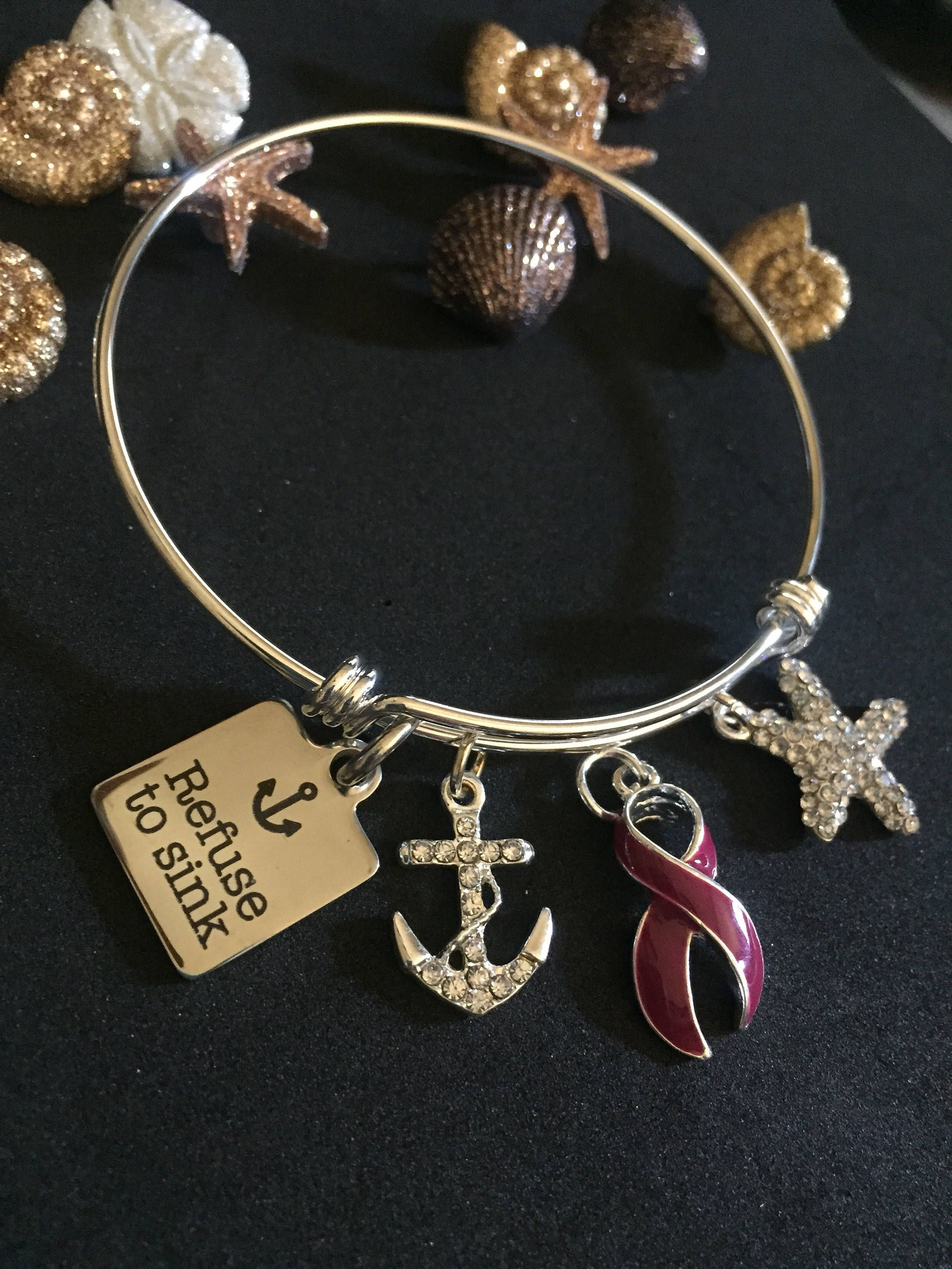 awareness siab il clear p fullxfull cancer ribbon liver bracelet disease