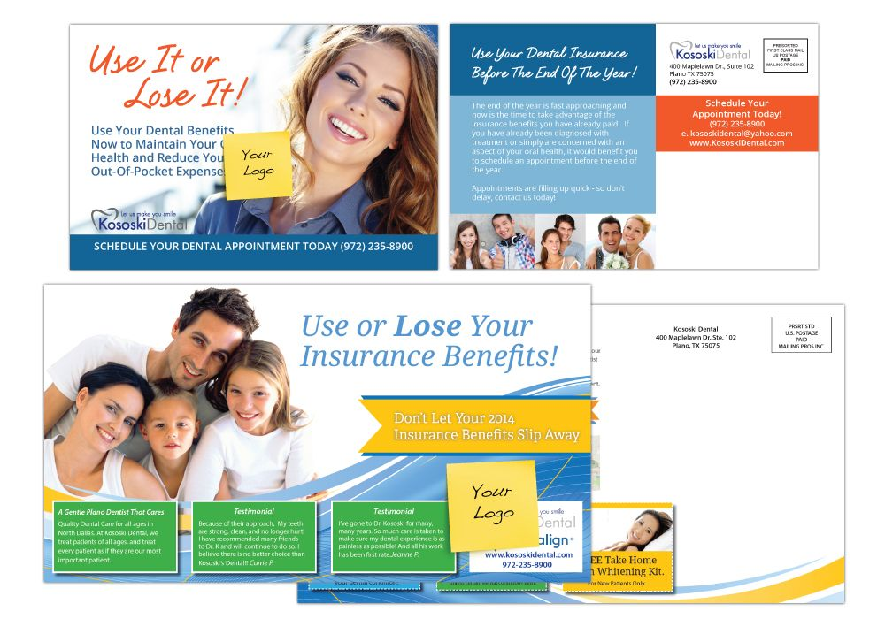 USE IT OR LOSE IT POSTCARD Brochure Flyer Design Pinterest - Seminar Flyer