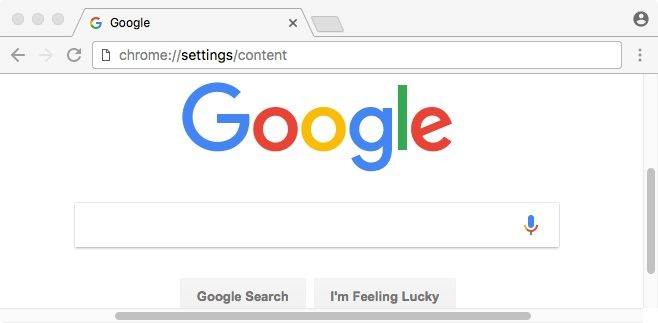 Type Settingscontent In The Chrome Address Bar Find My Dad