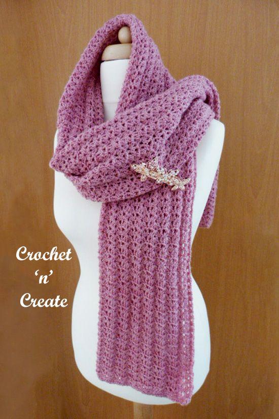 Lightweight Shawl Free Crochet Pattern