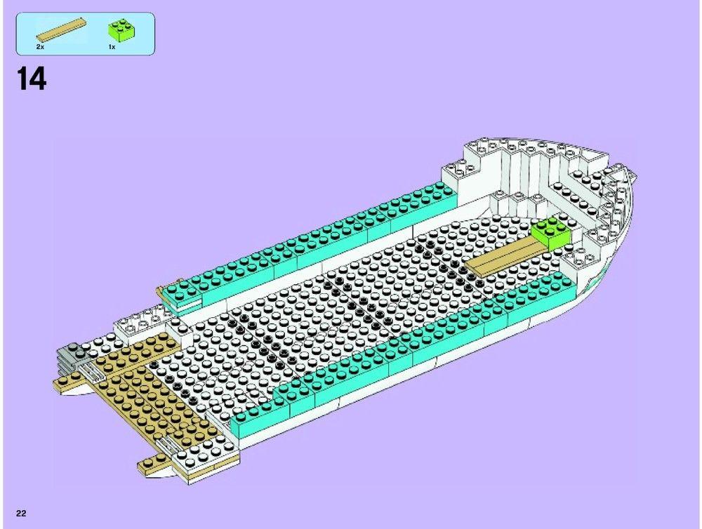 Friends - Dolphin Cruiser Lego 41015 in 2020 | Lego ...