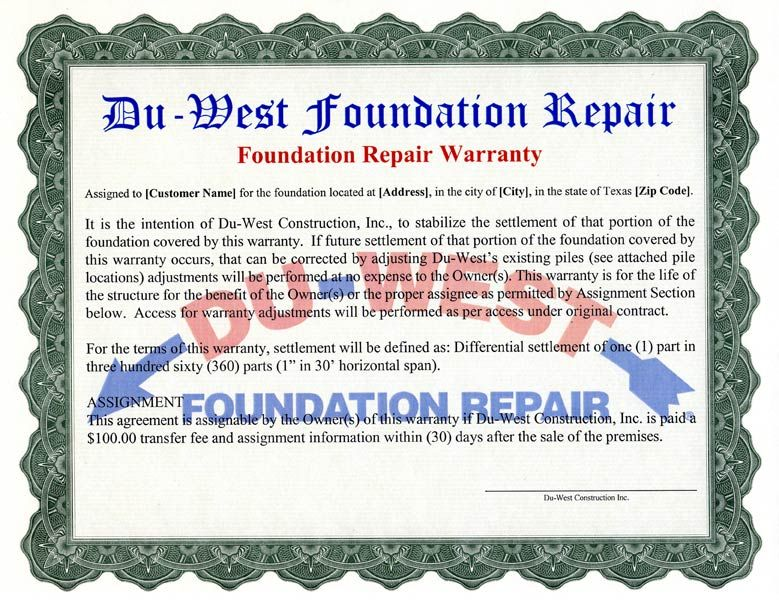 Du West Foundation Repair How To Set Up A Soaker Hose System For The Foundation Foundation Repair Foundation Signs