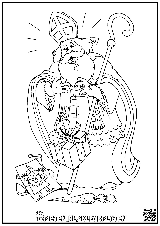 Kleurplaat Sinterklaas Schoen Met Stoute Tekening Goede Kwaliteit Afbeelding In Link Kleurplaten Sinterklaas Tekenen