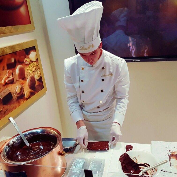 Ho un desiderio ... vorrei un Maitre Chocolatier Lindt a casa mia ...