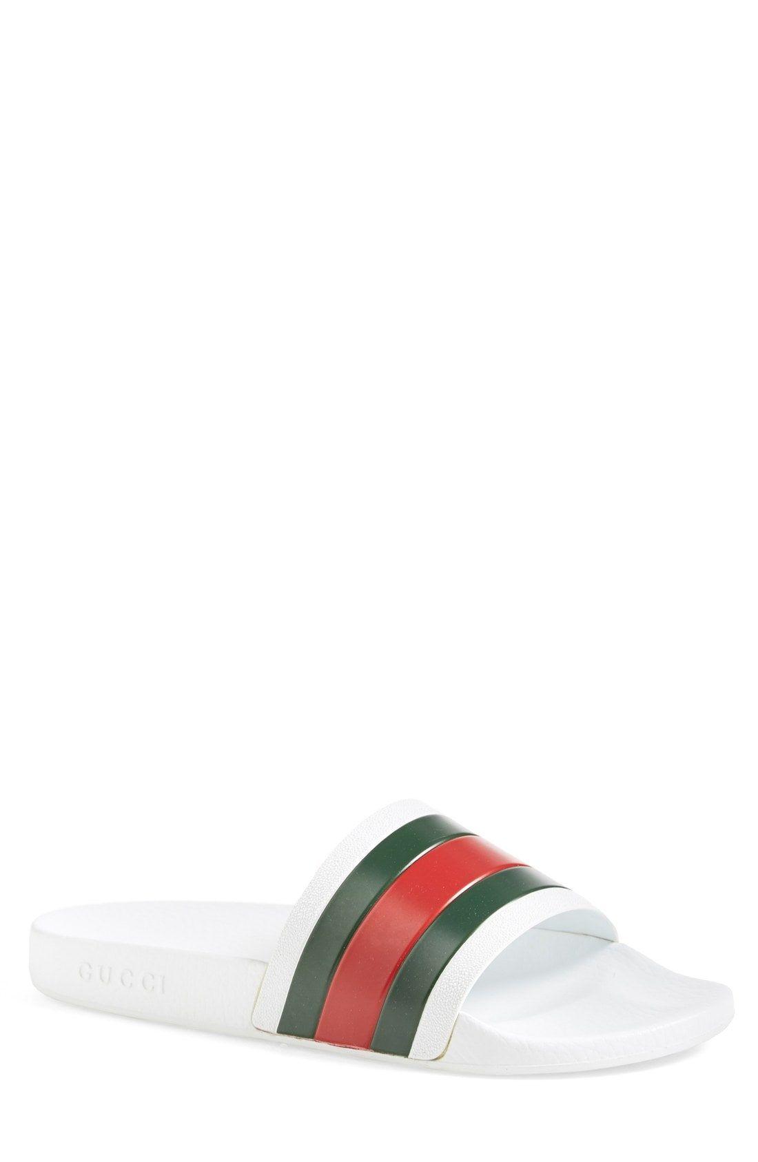 2ddc591dd36 GUCCI Pursuit Rubber Slide Sandal.  gucci  shoes  sandals