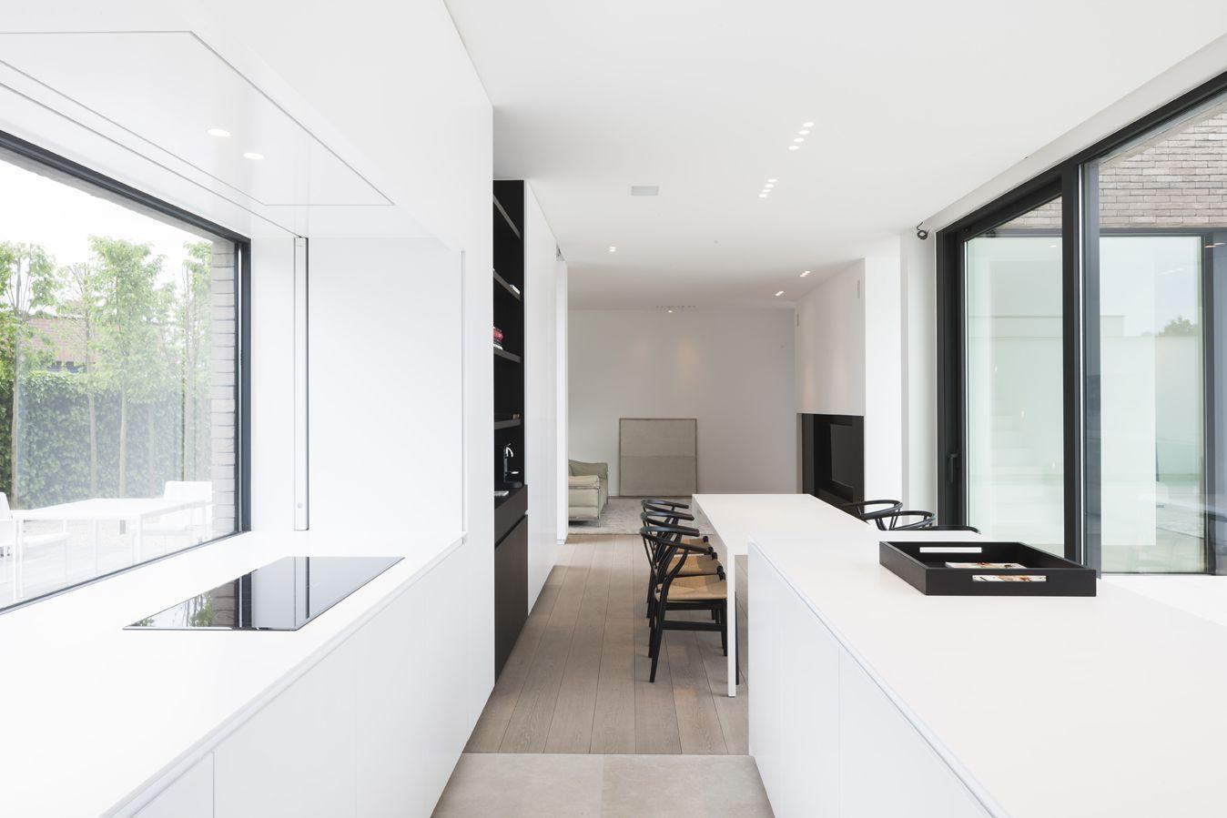 Kijkwoning minimalistic kitchen by ar architectuur en