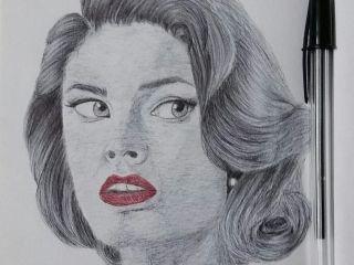لنشر ابداعاتكم انتم أيضا في منصة المبدع العربي Www Tafretjoz Com حملوا تطبيق Tafretjoz للأندرويد في Google Play Portrait Drawings Male Sketch