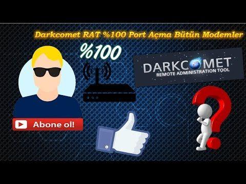 Darkcomet RAT %100 Port Açma Bütün Modemler | Darkcomet RAT