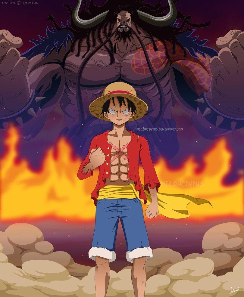One Piece Luffy Vs Kaido By Melonciutus One Piece Manga One Piece Luffy One Piece Anime