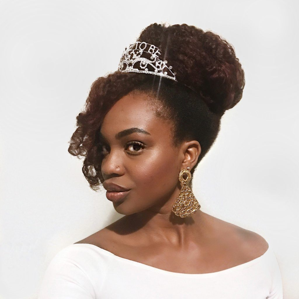 4 easy natural hairstyles for a bridal shower, bachelorette