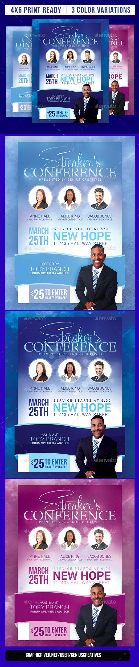 Church event or conference flyer flyer template churches and template church event or conference flyer saigontimesfo