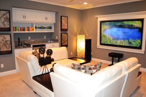 Small Media Room Rooms