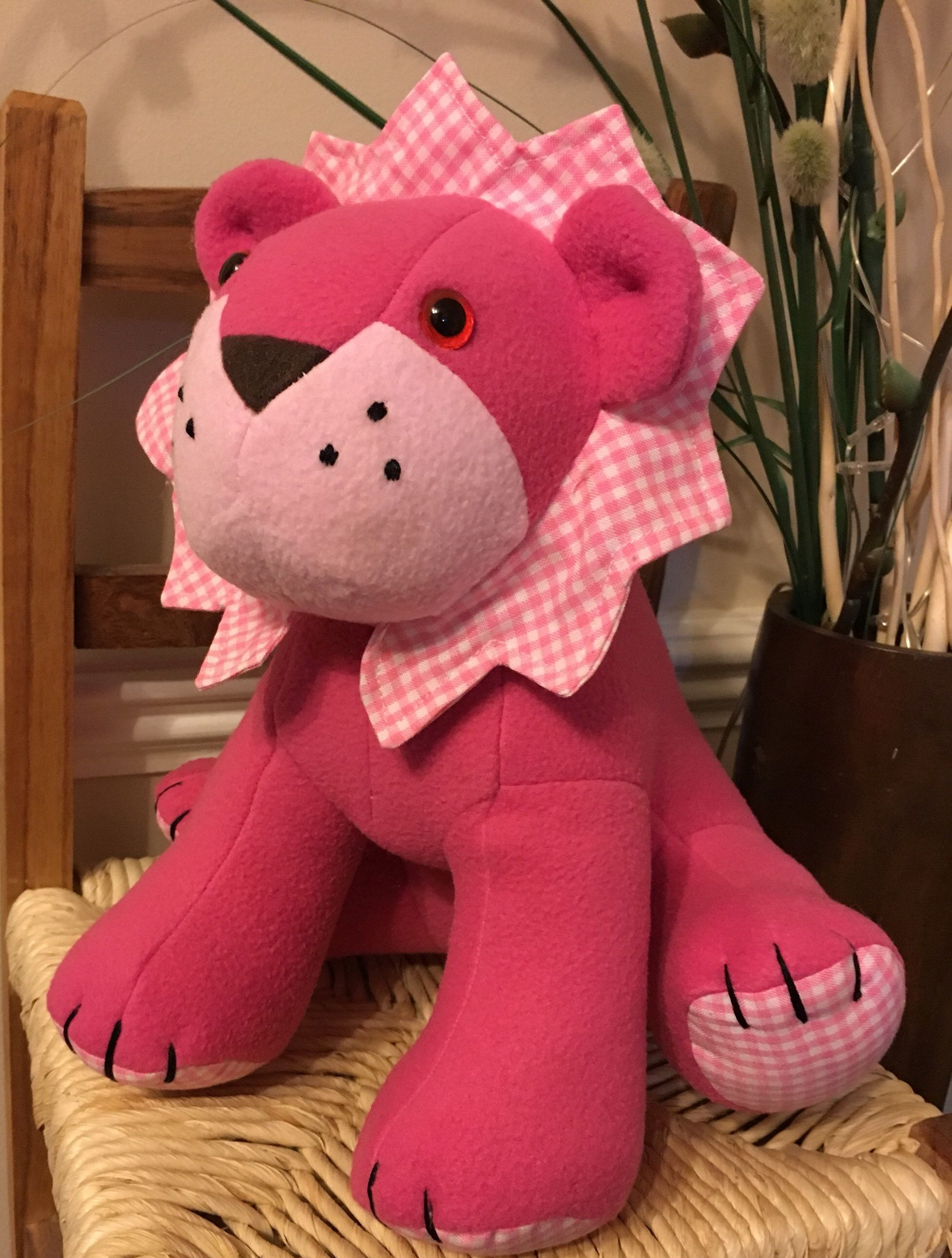 075a1be34db Excited to share the latest addition to my  etsy shop  Soft Toy Lion