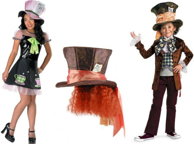 kids mad hatter costume - Mad Hatter Halloween Costume For Kids