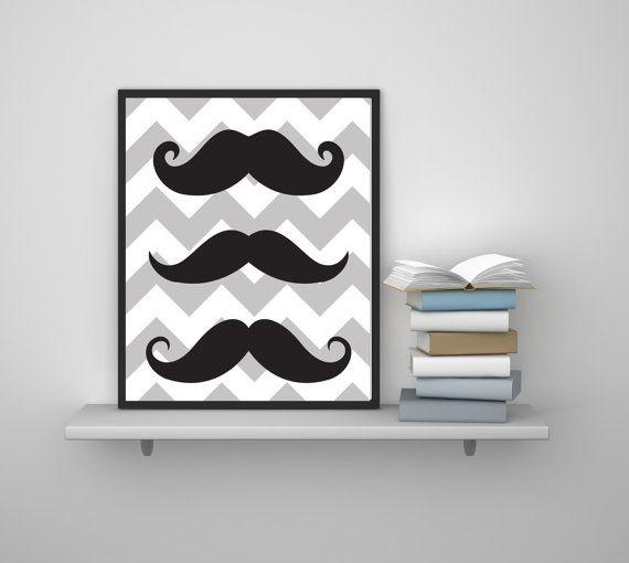 Mustache Wall Art Mustache Wall Decor Hipster Wall by galisto & Mustache Wall Art - Mustache Wall Decor - Hipster Wall Art - Hipster ...