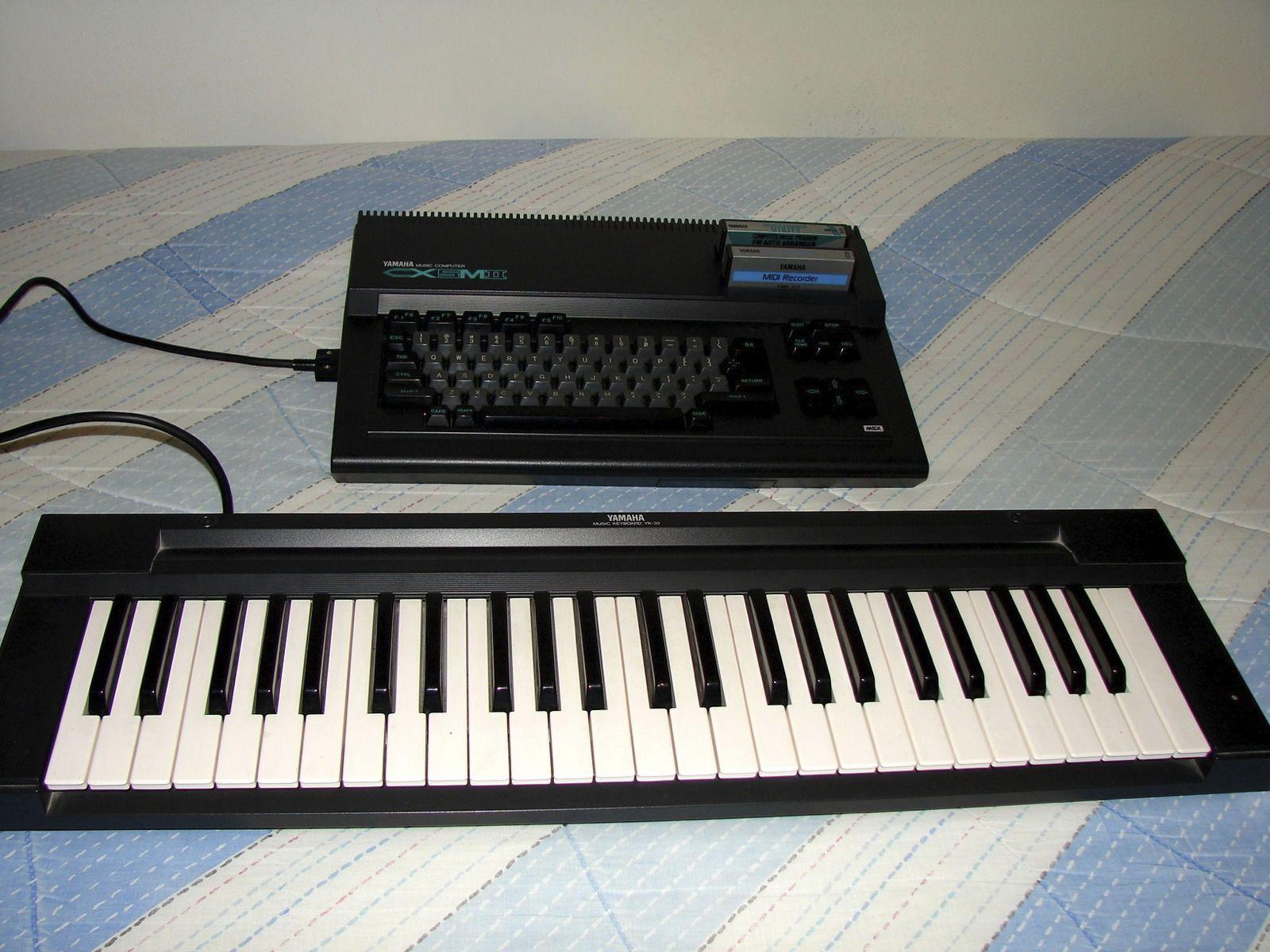 Yamaha CX-5 Mark II MSX MIDI Synthesizer Music Computer +