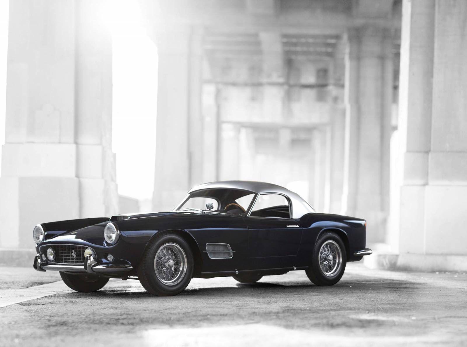 The 1957 Ferrari 250 GT LWB California Spider was the first car ...