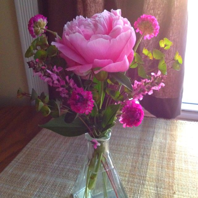 I love that I can pick flowers from my garden!