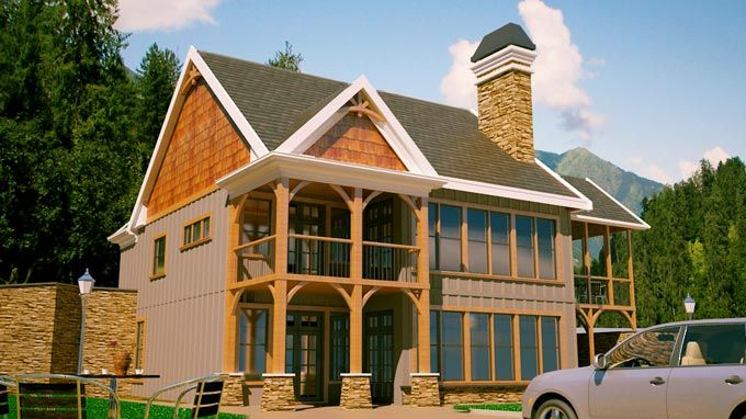 Small 2 Story 3 Bedroom Southern Cottage Style House Plan ... on solar log home plans, solar painting, solar house design, solar refrigerator plans, vacation homes house plans, solar wallpaper, storage shed house plans, solar floor plans,