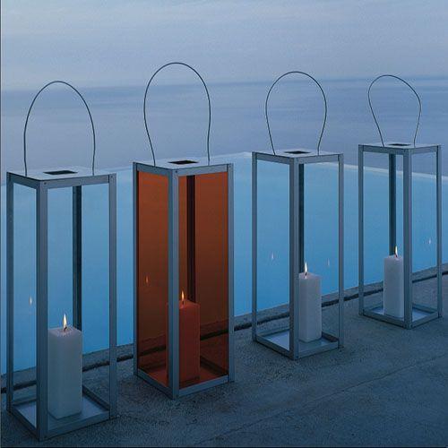 Gandia Blasco Farol Vertical Modern Outdoor Lantern Lamp Stardust Modern Design Faroles Jardines Modernos Muebles De Exterior