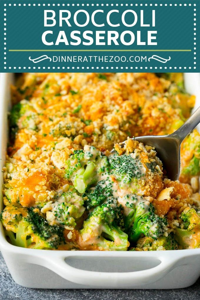 Broccoli Casserole - Dinner at the Zoo