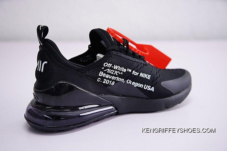 Virgil Abloh Off White X Nike Air Max 270 Ow Ah8050 011 New Year Deals Price 128 42 Nike Air Shoes Air Max 270 Nike Air