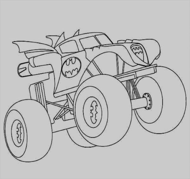 30 Creative Photo Of Monster Truck Coloring Pages Coloring