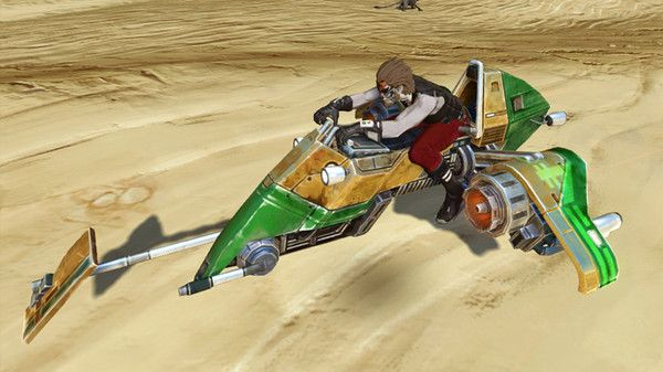 'Star Wars: The Old Republic' subscribers to collect free speeder
