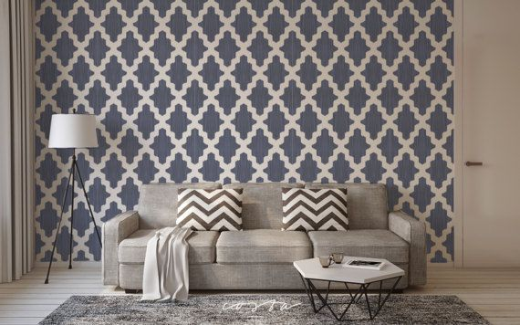 Moroccan Temporary self adhesive removable wallpaper by CostaCover