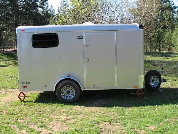 Cargo Trailer Great Blog It S Nice Inside Makes A Point