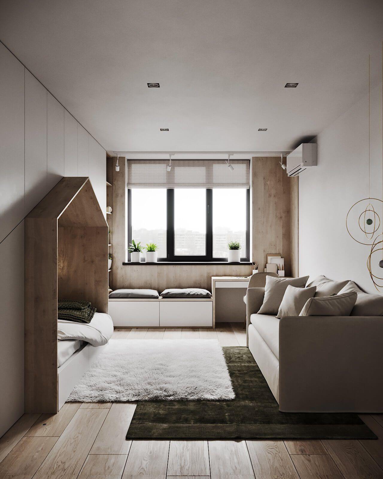 Autodesk Room Design: Modern Tenderness Flat // Cgi Visualization