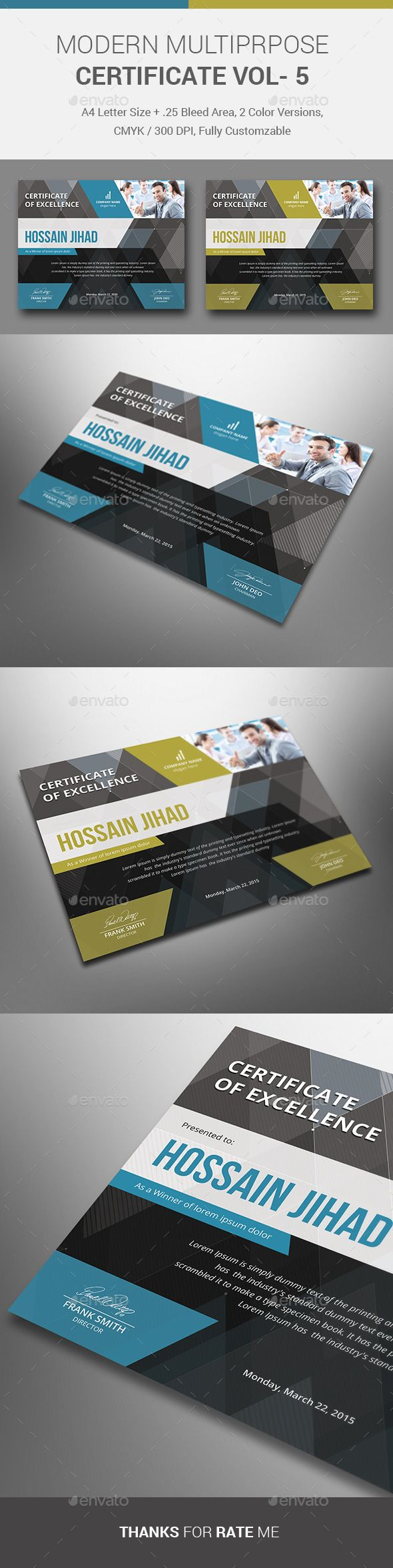 Certificate certificate templates print templates and certificate yelopaper Gallery