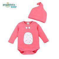 New Cotton Baby Bodysuit Spring Autumn Newborn Totoro Body Bodysuits Long Sleeve Underwear Infant Clothes Boy Girl Jumpsuits