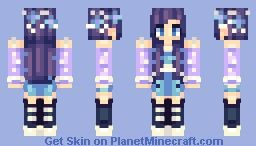 purple by kabples pmc skins aka planet minecraft minecraft